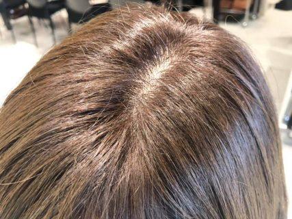 エイジングによる髪の変化